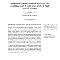 1-Relationship-between-thinking-styles-and-cognitive-load-A-contextual-study-of-Arab-special-learners-Mogbel-Aid-K-Alenizi-1-1.pdf
